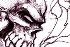 Ghost Rider caricature 2012