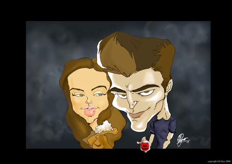 """The two main characters from the """"Twilight"""" series"""