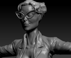 My first nearly complete ZBrush human character.