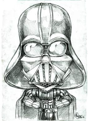 The dark side of the moon- uh- force.