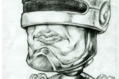 """Robocop say: """"Stay out of trouble"""""""
